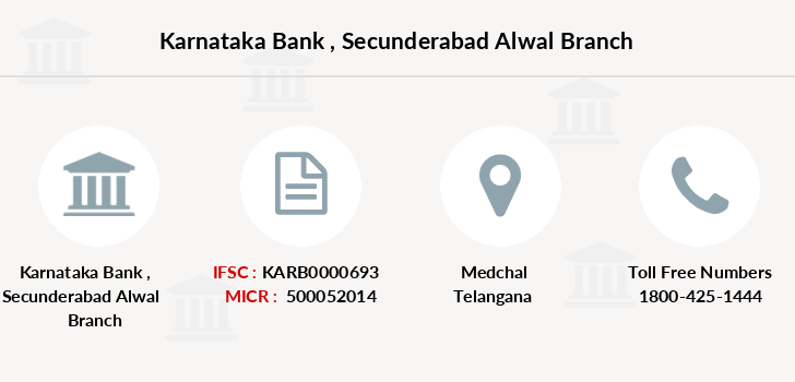 Karnataka-bank Secunderabad-alwal branch