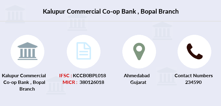 Kalupur-commercial-co-op-bank Bopal branch
