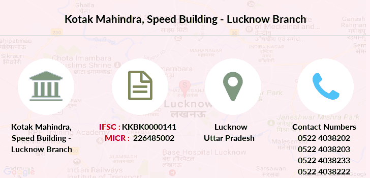 Kotak-mahindra-bank Speed-building-lucknow branch