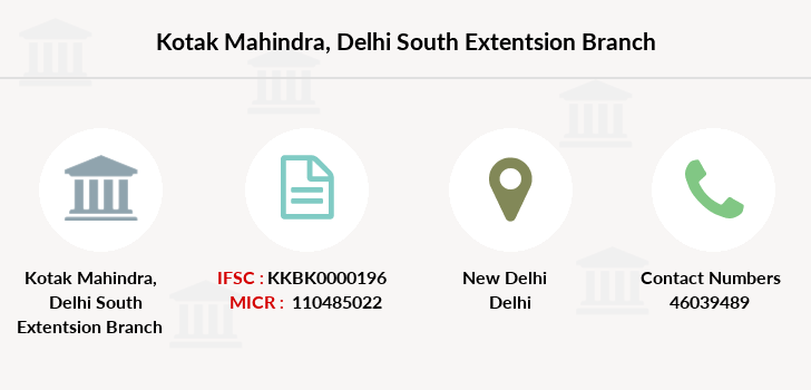 Kotak-mahindra-bank Delhi-south-extentsion branch