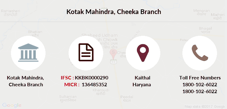 Kotak-mahindra-bank Cheeka branch