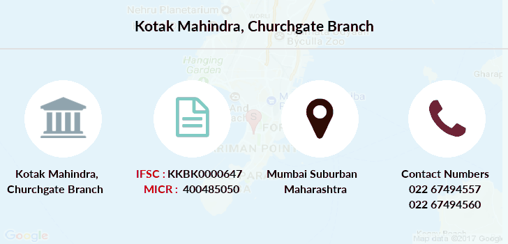 Kotak-mahindra-bank Churchgate branch