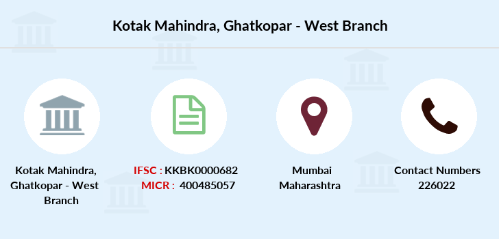 Kotak-mahindra-bank Ghatkopar-west branch