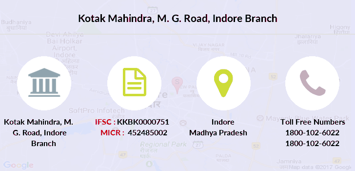 Kotak-mahindra-bank M-g-road-indore branch