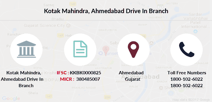 Kotak-mahindra-bank Ahmedabad-drive-in branch