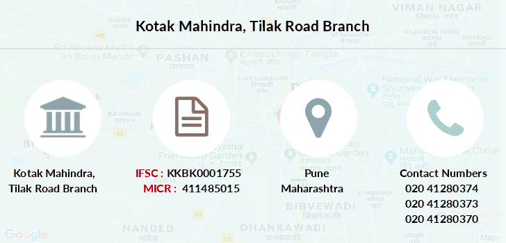 Kotak-mahindra-bank Tilak-road branch