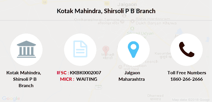 Kotak-mahindra-bank Shirsoli-p-b branch
