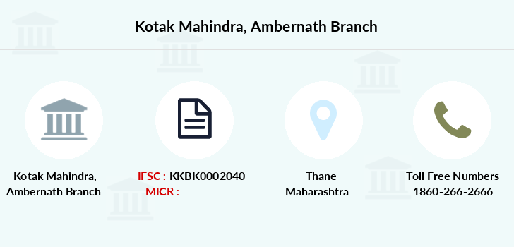 Kotak-mahindra-bank Ambernath branch