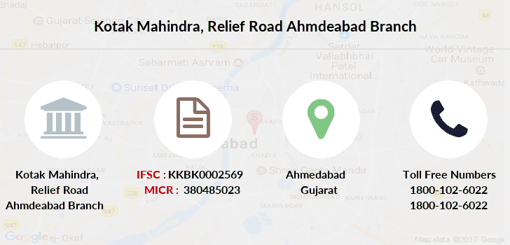 Kotak-mahindra-bank Relief-road-ahmdeabad branch