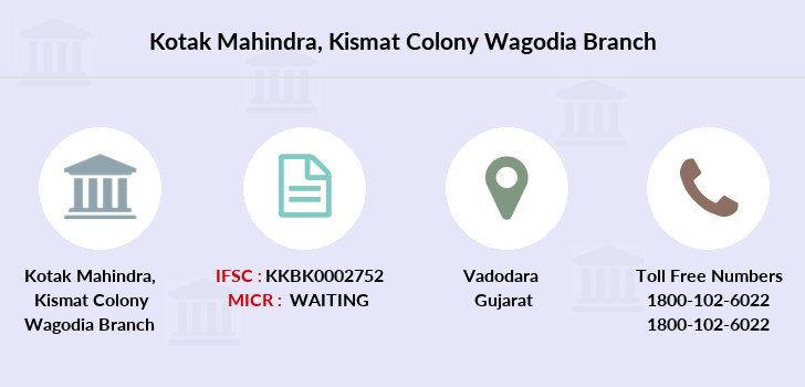 Kotak-mahindra-bank Kismat-colony-wagodia branch