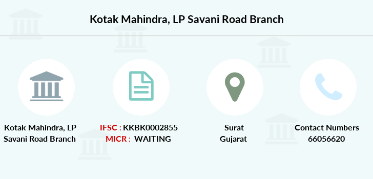 Kotak-mahindra-bank Lp-savani-road branch