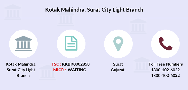 Kotak-mahindra-bank Surat-city-light branch
