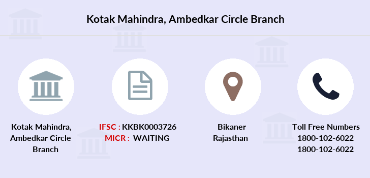 Kotak-mahindra-bank Ambedkar-circle branch