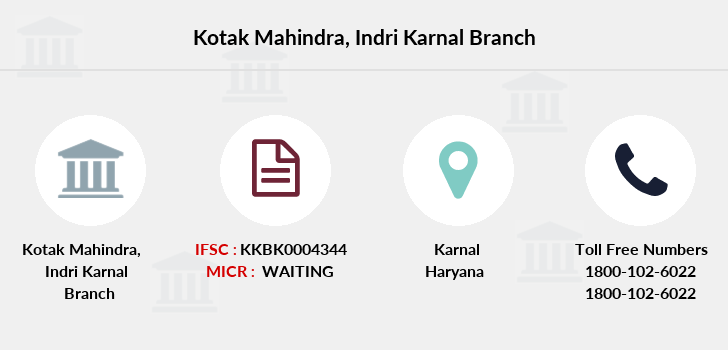 Kotak-mahindra-bank Indri-karnal branch