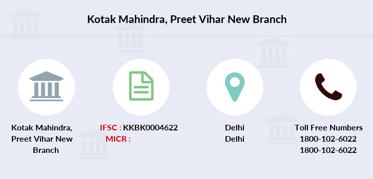 Kotak-mahindra-bank Preet-vihar-new branch