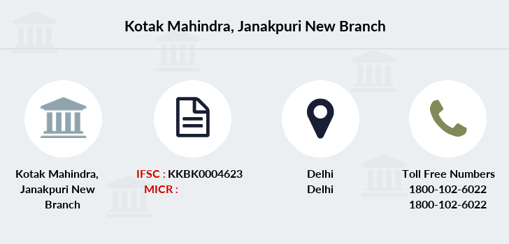 Kotak-mahindra-bank Janakpuri-new branch