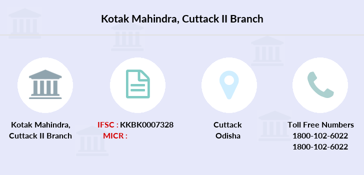 Kotak-mahindra-bank Cuttack-ii branch