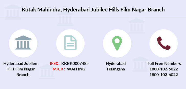 Kotak-mahindra-bank Hyderabad-jubilee-hills-film-nagar branch