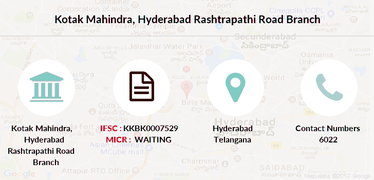 Kotak-mahindra-bank Hyderabad-rashtrapathi-road branch