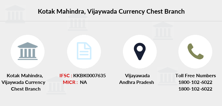 Kotak-mahindra-bank Vijaywada-currency-chest branch