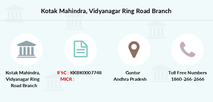 Kotak-mahindra-bank Vidyanagar-ring-road branch