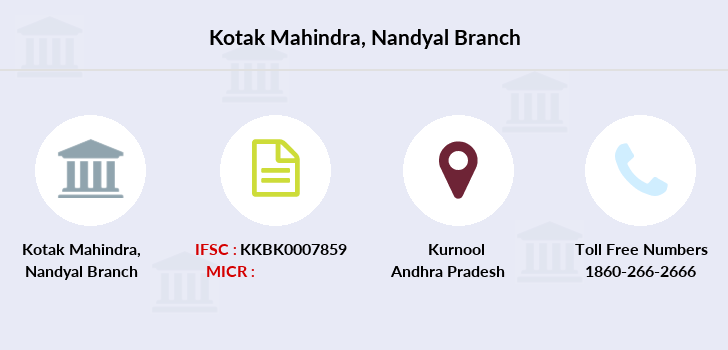 Kotak-mahindra-bank Nandyal branch