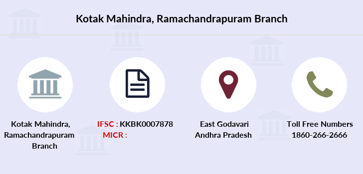 Kotak-mahindra-bank Ramachandrapuram branch