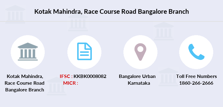 Kotak-mahindra-bank Race-course-road-bangalore branch