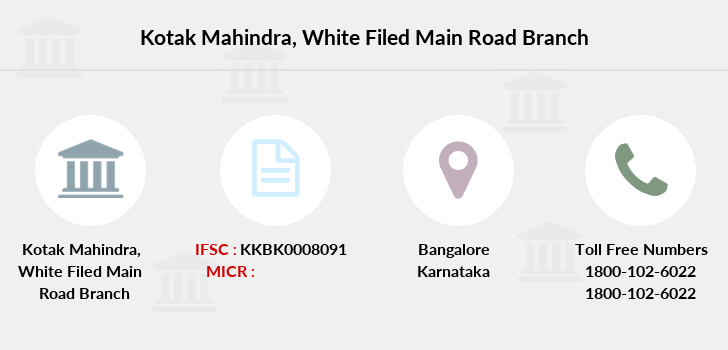 Kotak-mahindra-bank White-filed-main-road branch