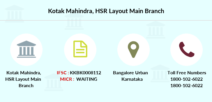 Kotak-mahindra-bank Hsr-layout-main branch