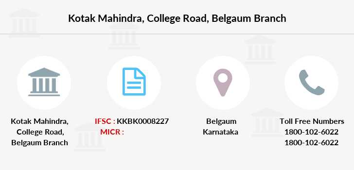 Kotak-mahindra-bank College-road-belgaum branch