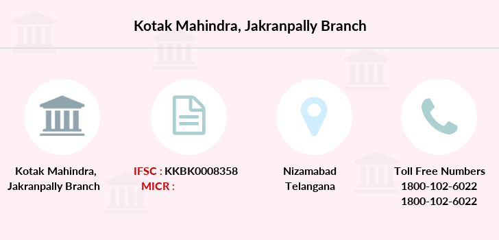Kotak-mahindra-bank Jakranpally branch