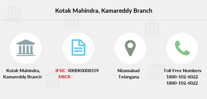 Kotak-mahindra-bank Kamareddy branch