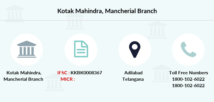 Kotak-mahindra-bank Mancherial branch