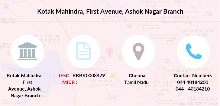 Kotak-mahindra-bank First-avenue-ashok-nagar branch