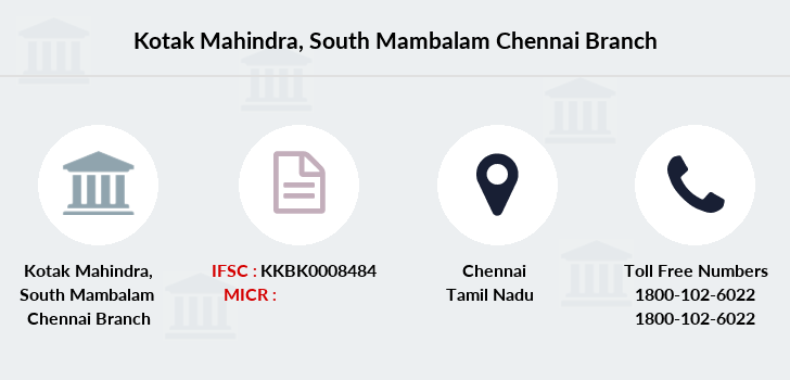 Kotak-mahindra-bank South-mambalam-chennai branch