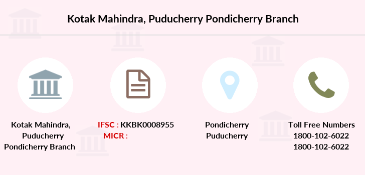 Kotak-mahindra-bank Puducherry-pondicherry branch
