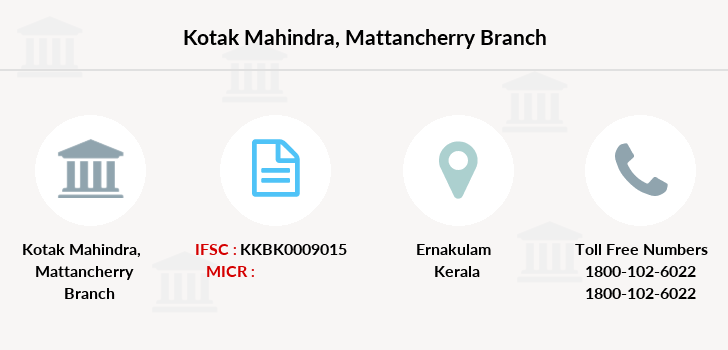 Kotak-mahindra-bank Mattancherry branch