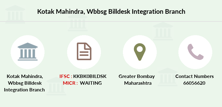 Kotak-mahindra-bank Wbbsg-billdesk-integration branch