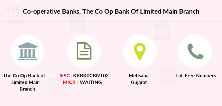 Co-operative-banks The-co-op-bank-of-mehsana-limited-main branch