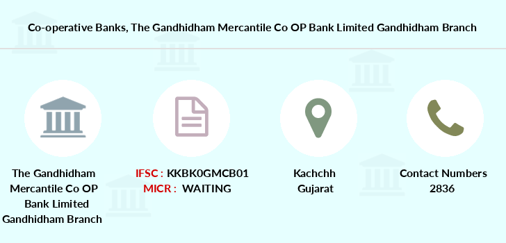 Co-operative-banks The-gandhidham-mercantile-co-op-bank-limited-gandhidham branch