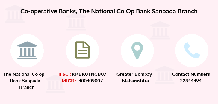 Co-operative-banks The-national-co-op-bank-limited-sanpada branch