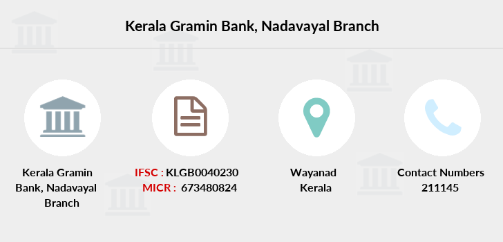 Kerala-gramin-bank Nadavayal branch