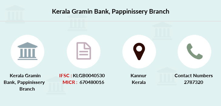 Kerala-gramin-bank Pappinissery branch