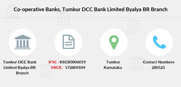 Co-operative-banks Tumkur-dcc-bank-limited-byalya-br branch