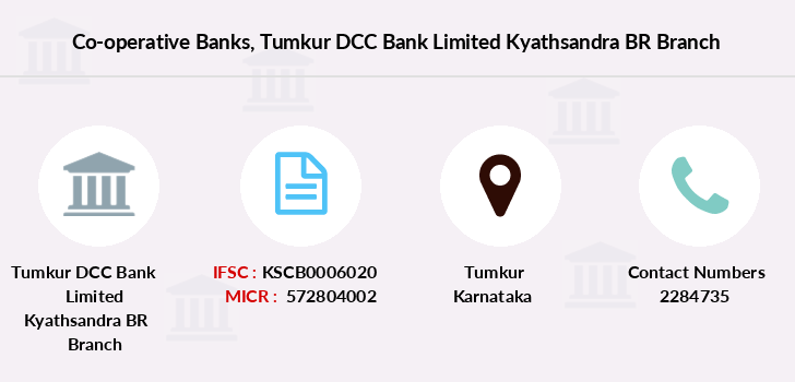 Co-operative-banks Tumkur-dcc-bank-limited-kyathsandra-br branch