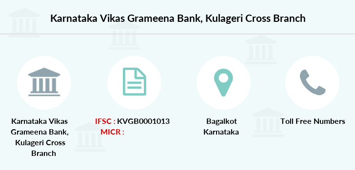 Karnataka-vikas-grameena-bank Kulageri-cross branch