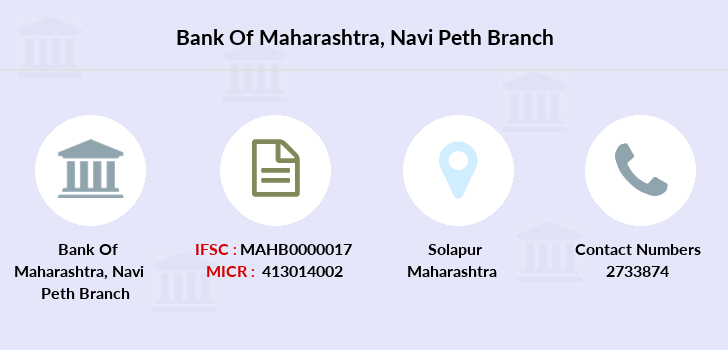 Bank-of-maharashtra Navi-peth branch