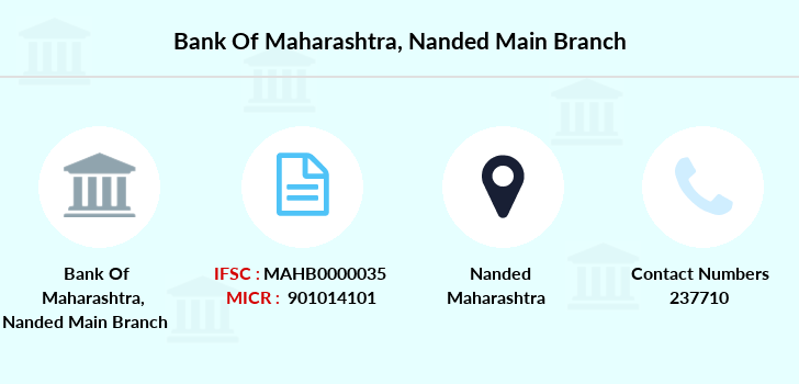 Bank-of-maharashtra Nanded-main branch