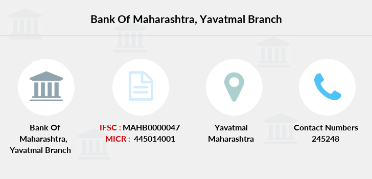 Bank-of-maharashtra Yavatmal branch
